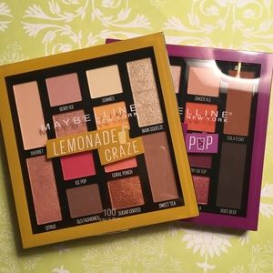 Two Maybelline Eyeshadow Palettes